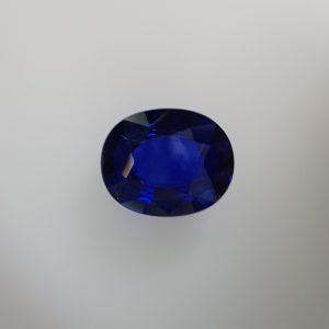2.1 Carats Blue Sapphire Oval Shape