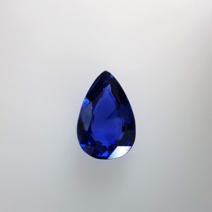 2.1 Carats Blue Sapphire Pear Shape