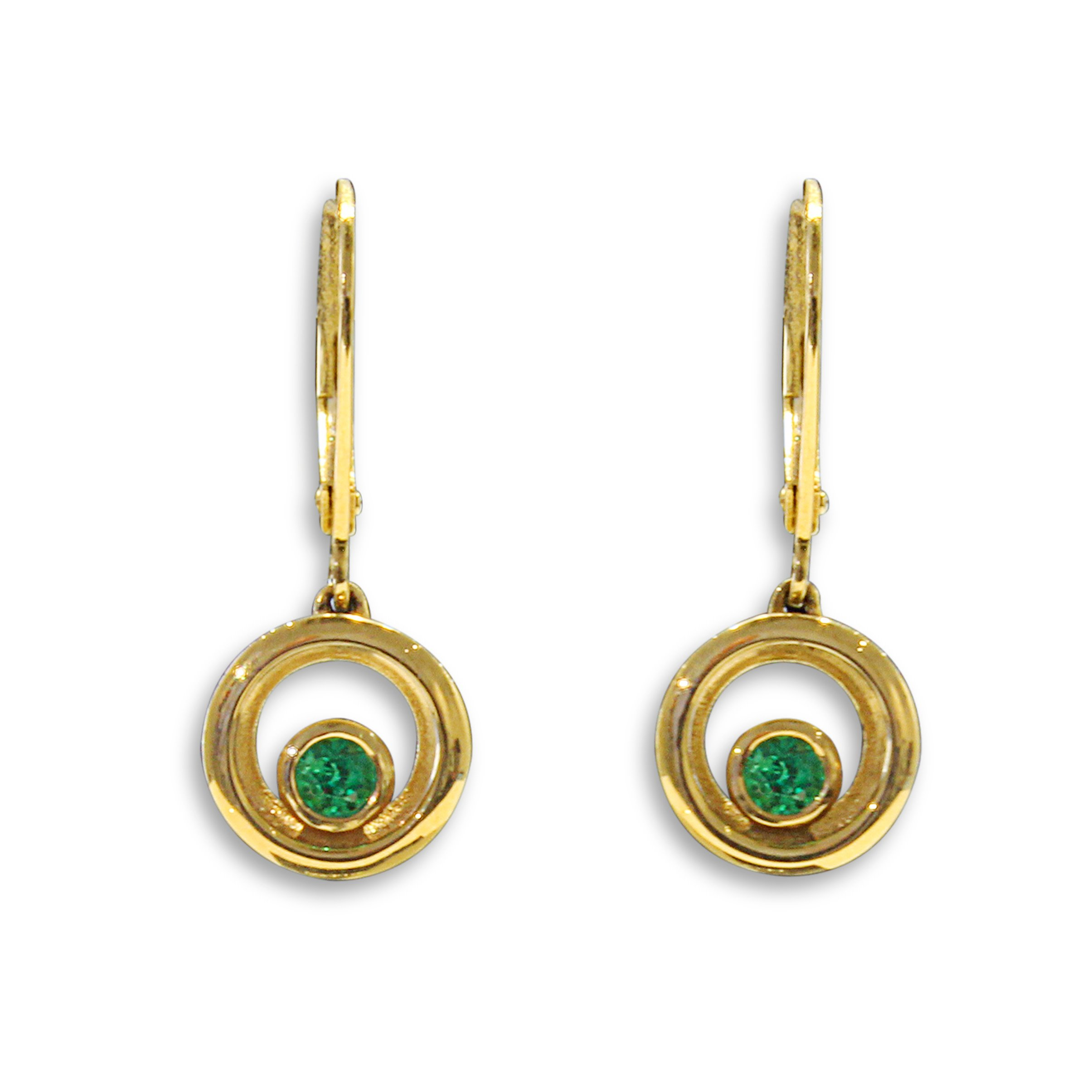 gold treasures product diamond jewellery white earrings description emerald previously loved