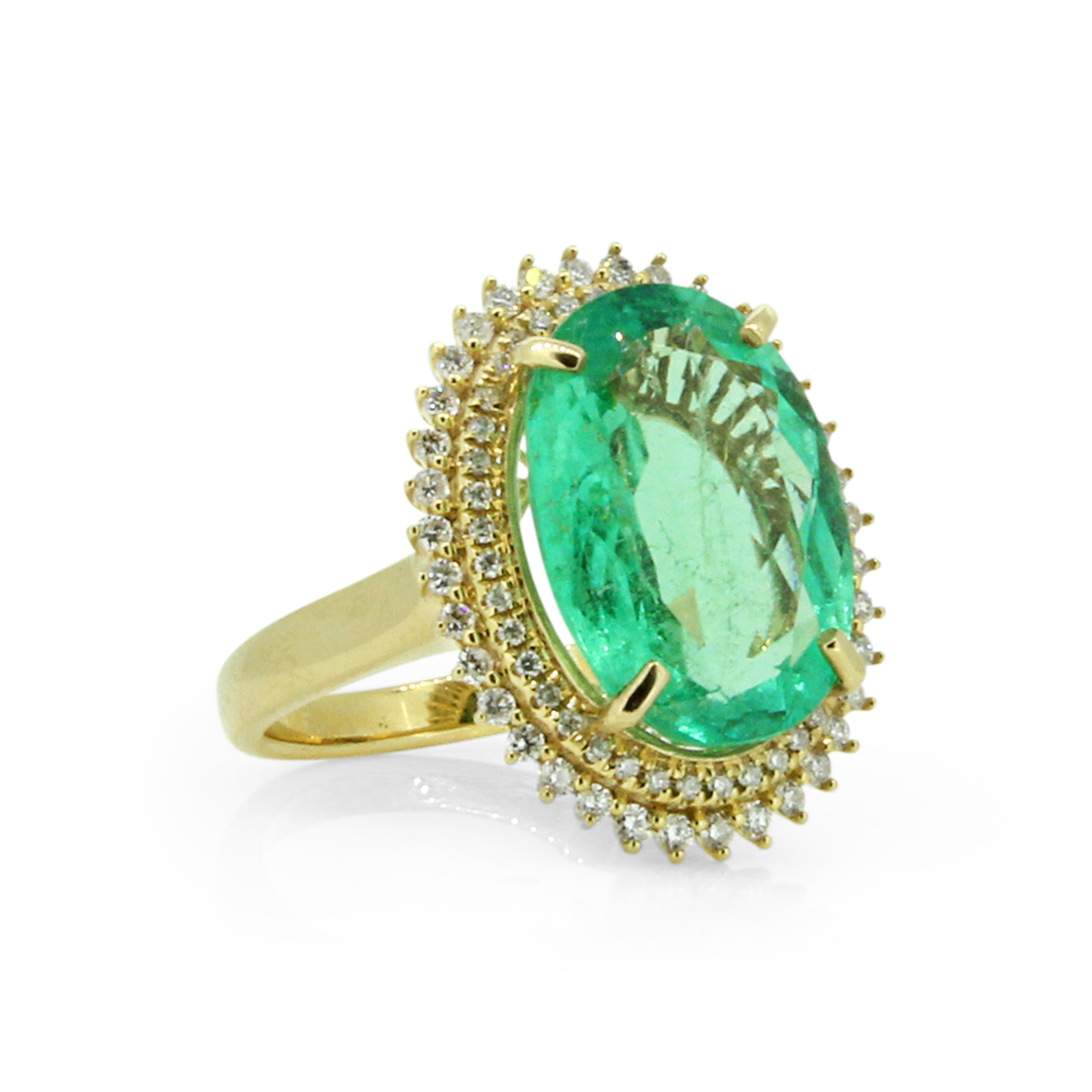 ring emerald champagne rings marquise products moondance leaf dia and emeral diamond jewelry
