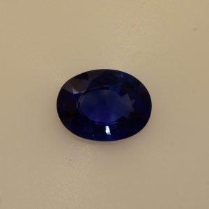 1.95 Carats Blue Sapphire Oval Shape