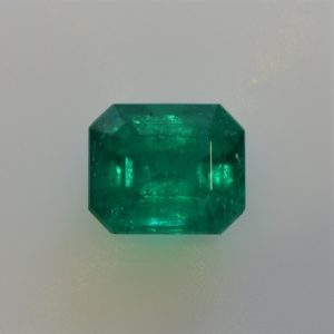 1.5 Carat Emerald Cut  Colombian Emerald  Loose Gemstone