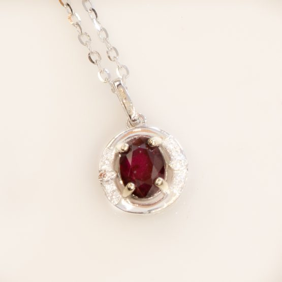 ruby diamond pendant 1982240
