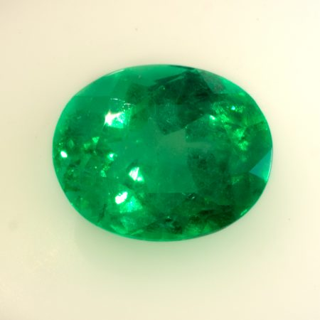 9.45  Carat Oval Cut  Colombian Emerald  Loose Gemstone