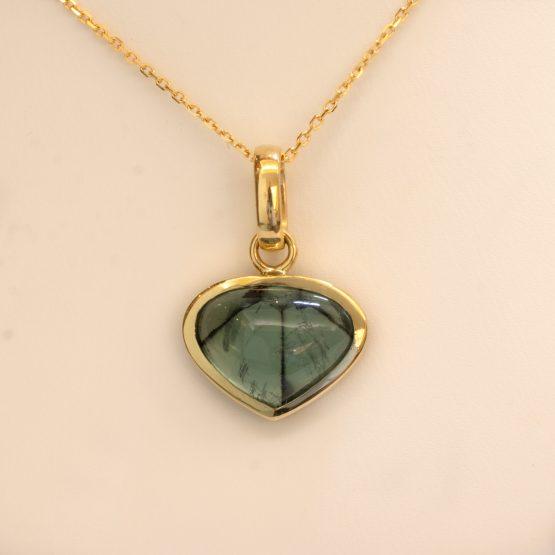 Colombain Trapiche Emerald Pendant - 1982290