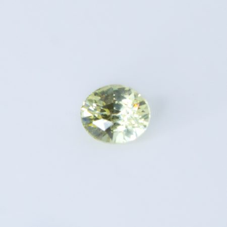 1.03 CT NATURAL YELLOW SAPPHIRE OVAL CUT UNHEATED - NO TREATMENTS