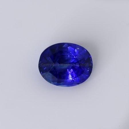 5.06 CT NATURAL UNHEATED BLUE SAPPHIRE OVAL CUT