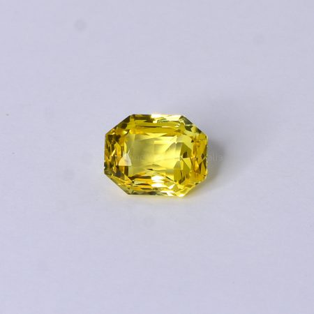 2.49 CT NATURAL YELLOW SAPPHIRE RADIAN MIX SHAPE UNHEATED