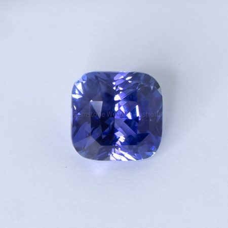2.54 CT NATURAL BLUE SAPPHIRE CUSHION CUT