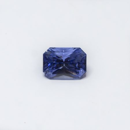 2.52 CT NATURAL BLUE SAPPHIRE RADIANT CUT