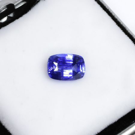 2.02 CT NATURAL CORNFLOWER BLUE SAPPHIRE CUSHION CUT