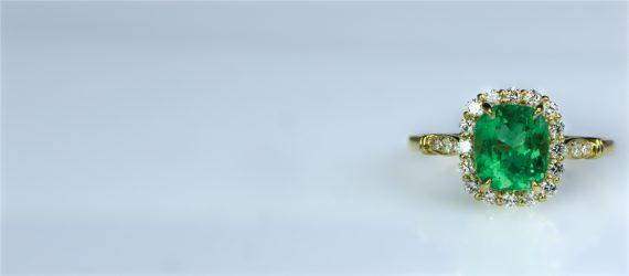 eye clean Genuine emerald colombia